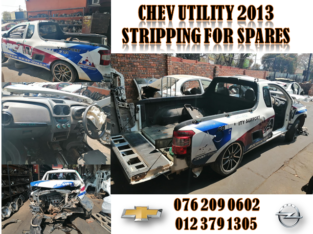 CHEV UTILITY 2013 USED REPLACEMENT PARTS FOR SALE