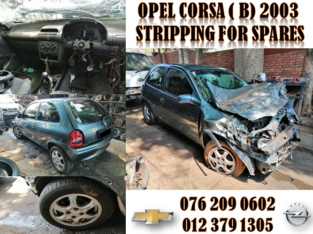 OPEL CORSA ( B ) 2003 USED REPLACEMENT PARTS FOR SALE