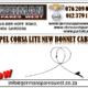 OPEL CORSA LITE NEW BONNET CABLE FOR SALE