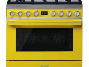 Smeg 90CM Portofino 6 Burner Gas / Electric Stove – CPF9GMYW
