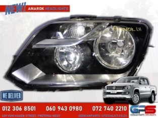 Volkswagen Amarok New Headlight 2013-14