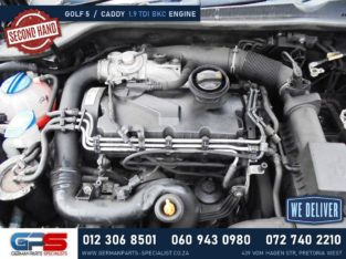 Volkswagen Golf 5 / Caddy 1.9 TDI BKC Used Engine & Used Spares