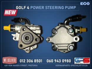 Volkswagen Golf 4 New Power Steering Pump & Other Used Spares