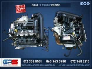 Volkswagen Polo 1.2 TSI CJX Used Engine & Other Used Spares