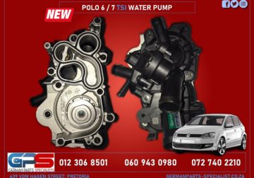 Volkswagen Polo 6 / 7 TSI New Water Pump & Other Used Spares