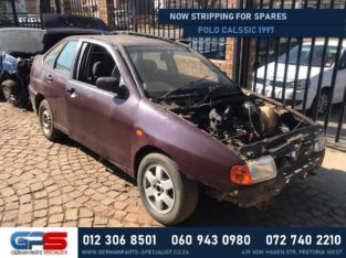 Volkswagen Polo Classic 1997 Stripping for Used Spares & Parts