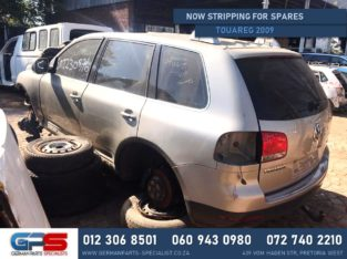 Volkswagen Touareg 2009 Stripping For Used Spares & Parts