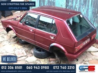 Volkswagen Citi Golf 1 Stripping For Used Spares & Parts