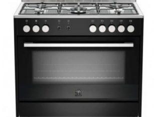 La Germania Europa 90cm Gas Hob/Electric Oven – Black (TUS95C81DN