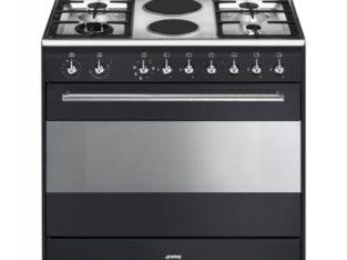 Smeg 90cm Anthracite Concert Full Gas Cooker Oven – SSA91GGA9