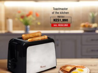 2 SLICE POP UP TOASTER STAINLESS STEEL