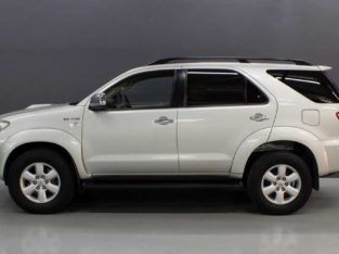 2011 Toyota Fortuner 3.0 D4D 4X4 Auto
