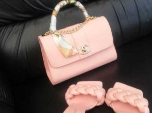 Abag with shoes for sell