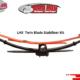 Isuzu KB and Frontier Series – Leaf Spring Suspension Upgrade