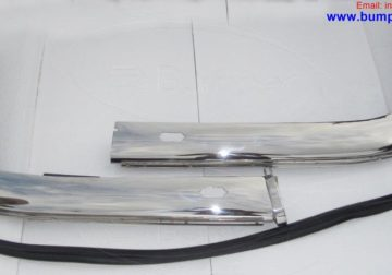 BMW E9 bumper Stainless steel Polished