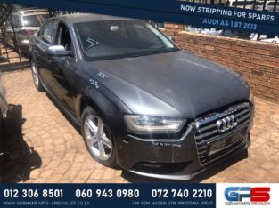 Audi A4 1.8T 2013 Stripping for Used Spares & Parts