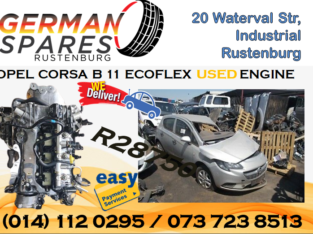 OPEL CORSA B11 ECOFLEX USED ENGINE FOR SALE!!!