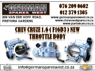 CHEV CRUZE 1.6 ( F16D3) NEW THROTTLE BODY