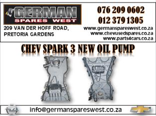 CHEV SPARK 3 NEW OIL PUMP