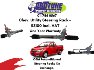 Chev. Utility – OEM Reconditioned Steering Rack