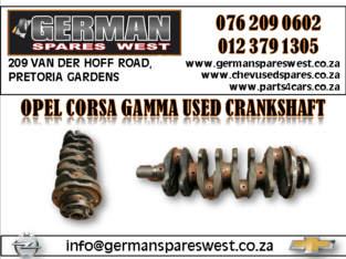 OPEL CORSA GAMMA USED CRANKSHAFT