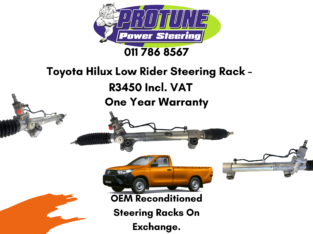 Toyota Hilux Low Rider – OEM Reconditioned Steering Racks