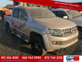 Volkswagen Amarok 2.0 2013 Stripping for Used Spares & Parts