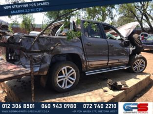 Volkswagen Amarok 2018 2.0 TDI CSH Stripping for Used Spares