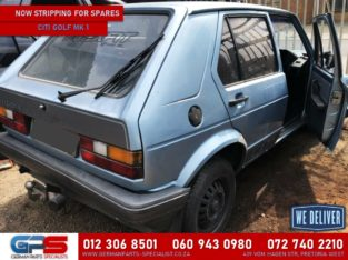 Volkswagen Citi Golf Mk 1 Stripping for Used Spares & Parts