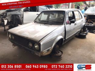 Volkswagen Golf MK 1 Stripping for Used Spares & Parts