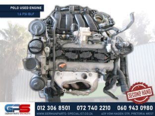 Volkswagen Polo 1.6 FSI BLF Used Engine & Other Used Spares