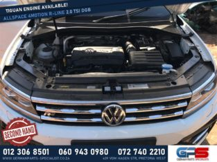 Volkswagen Tiguan Allspace 2.0 TSI DBG Used Engine 4Motion R-Line