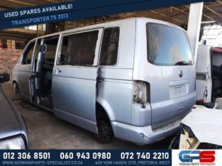 Volkswagen Transporter T5 2013 Used Spares & Parts