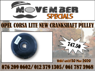 OPEL CORSA LITE NEW CRANKSHAFT PULLEY SPECIAL -R 747.50