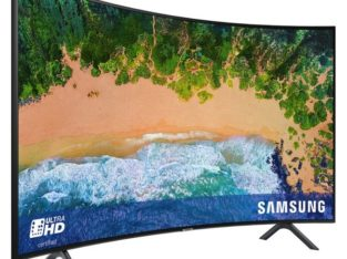 Samsung 65NU7300 65 Inch 4K UHD Curved Smart TV with HDR
