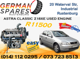 ASTRA CLASSIC (Z18XE) USED ENGINE FOR SALE!!!