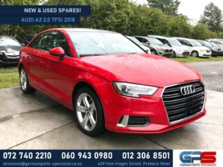 Audi A3 2.0 TFSI 2018 New & Used Spares Available!