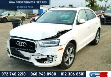 Audi Q3 2013 Stripping For Used Spares