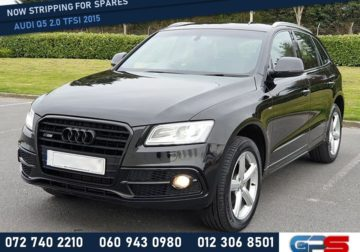 Audi Q5 2.0 TFSI 2015 Stripping For Used Spares