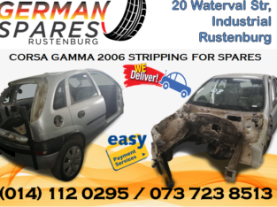 CORSA GAMMA 2006 STRIPPING FOR SPARES!!!