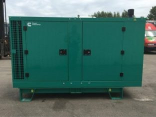 Cummins 30KVA Silent Three Phase Diesel Generator