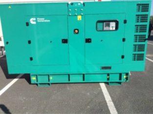 Cummins 60KVA Silent Three Phase Diesel Generator