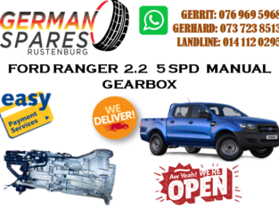 FORD RANGER 2.2 5SPD MANUAL GEARBOX FOR SALE!!!
