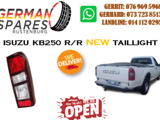 ISUZZU KB250 R/R TAILLIGHTS FOR SALE!!!