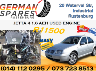 JETTA 4 1.6 AEH USED ENGINE FOR SALE!!!