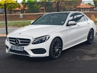 2018 MERC C180 AMG WITH 75000KM FOR SALE