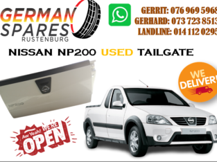 NISSAN NP200 TAILGATE FOR SALE!!!