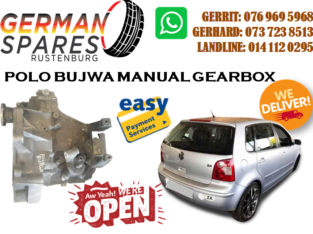 POLO BUJWA MANUAL GEARBOX FOR SALE!!!