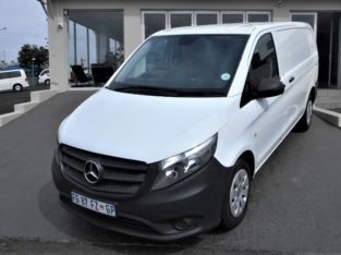 2016 VITO 111CDI PANEL VAN WITH 145000KM FOR SALE 0790475688