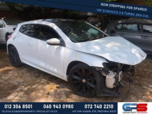 Volkswagen Scirocco 2.0 Turbo 2016 CUL Stripping For Used Spares